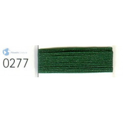 Sewing thread Mandtler foam on reel of 1000 meters : green 277