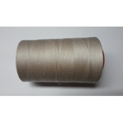 Sewing thread on reel, length: 5000 yards (4571 m) beige
