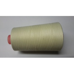 Sewing thread on reel, length: 5000 yards (4571 m) off-white (ecru)