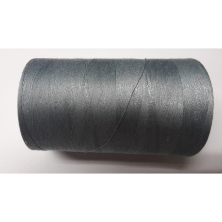 Sewing thread on reel, length: 5000 yards (4571 m) light grey
