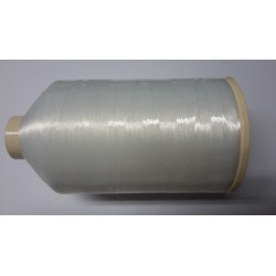 Sewing thread on reel, length: 5000 yards (4571 m) invisible light