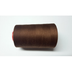 Sewing thread on reel, length: 5000 yards (4571 m) brown