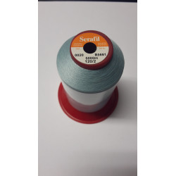 Sewing thread Serathread on reel of 5000 meters : blue 20