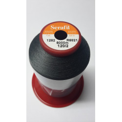 Sewing thread Serathread on reel of 5000 meters : gris 1282