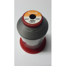 Sewing thread Serathread on reel of 5000 meters : gris 415