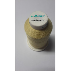 Sewing thread Mandtler on reel of 1000 meters : yellow 114
