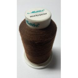 Sewing thread Mandtler on reel of 1000 meters : brown 975