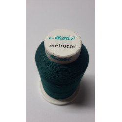 Sewing thread Mandtler on reel of 1000 meters : green 757