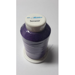 Sewing thread Mandtler on reel of 1000 meters : violet 46