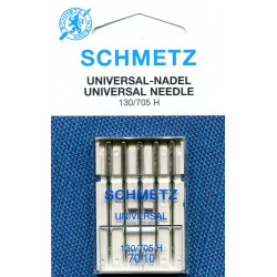 Needle 130 705 H universal size 070 in set of  5