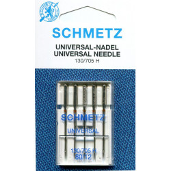 Needle 130 705 H universal size 080 in set of  5