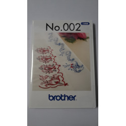 Clé USB No.002 motifs de broderie BROTHER