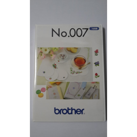 Clef USB No.007 motifs broderie BROTHER