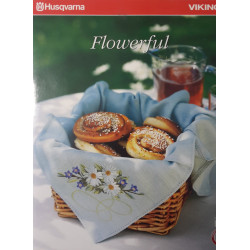 Carte de broderie Husqvarna d-Card 142 Flowerful