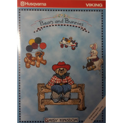 Carte de broderie Husqvarna disquette Bears and Bunnies