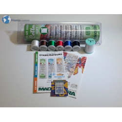 Starter kit embroidery machine n°1 Debutant