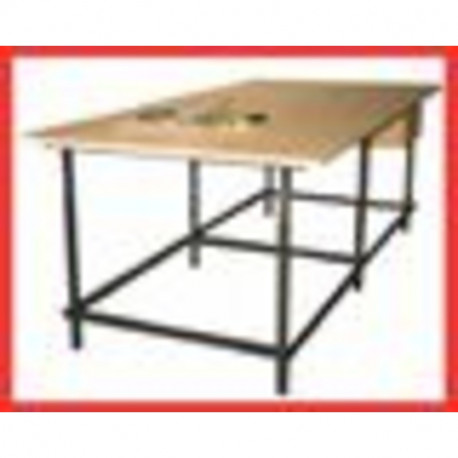 Designer 39 s table 120 x 250 cm - Table carree 120 cm ...