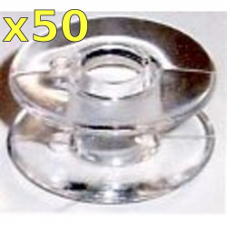 Bobbin Singer 8502 (plastic) (set of  50)