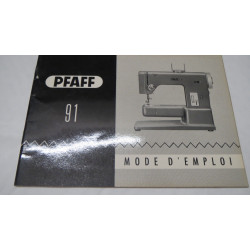 Instruction manual Pfaff 7570