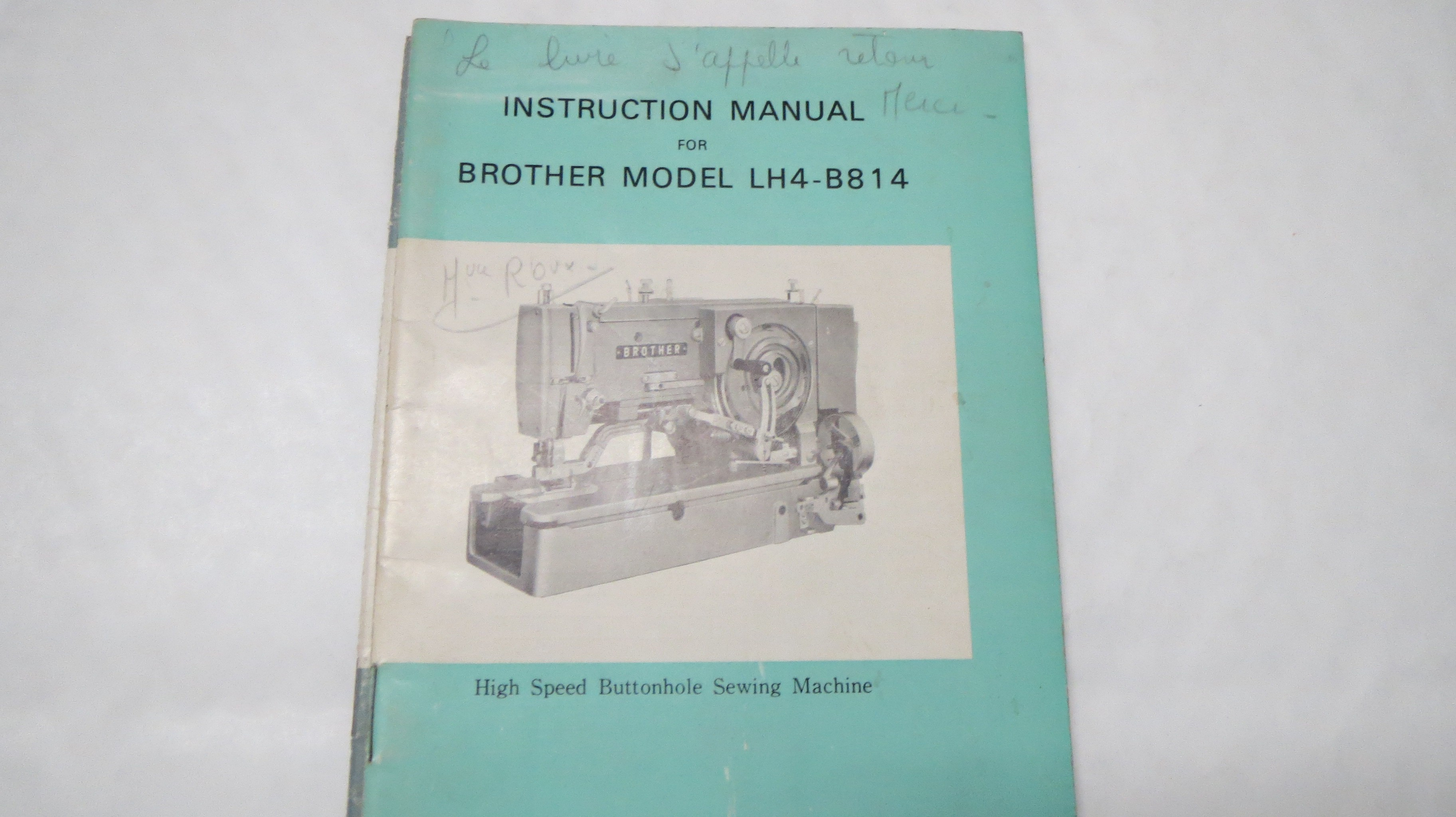 manual for brother lh4 b814 french plan te couture rh planetecouture com brother lh4-b814-2 instruction manual brother lh4-b814 service manual