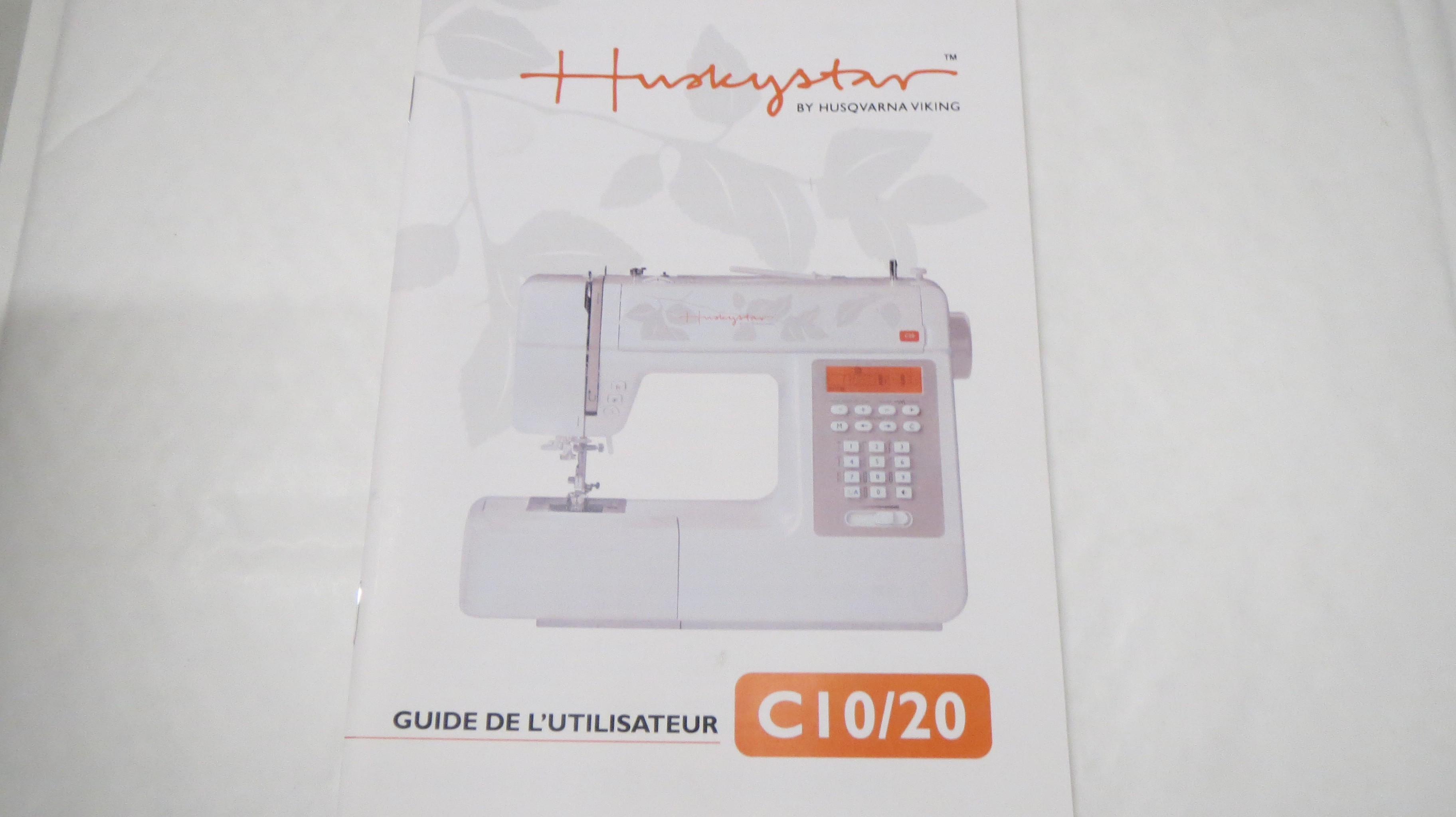 manual for husqvarna huskystar c10 205 french plan te couture rh planetecouture com