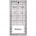 Ruler for quilting 16 x 32 cm