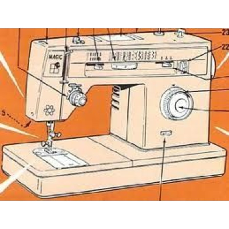 Singer mode demploi for Machine a coudre omnia mode d emploi