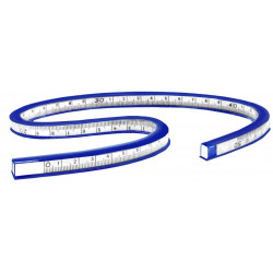 Ruler flexible cobra 40 cm