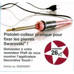 Pistolet colleur Swarovski Decorative Touch