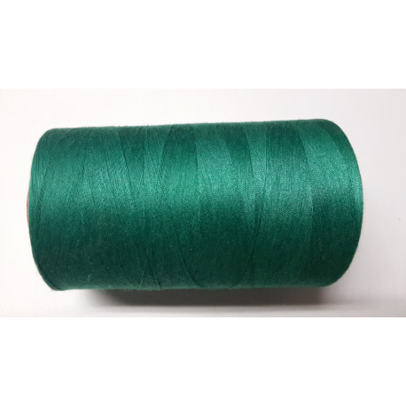 Sewing thread on reel, length: 5000 yards (4571 m) bottle green