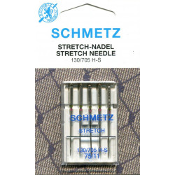 Needle 130 705 HS strandch in set of  5