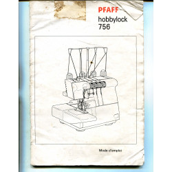 Instruction manual Pfaff hobbymatic