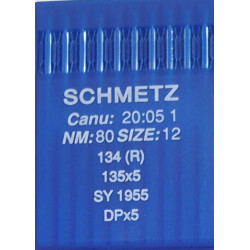 Needle 134 R size 080 in set of  10