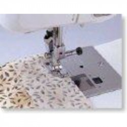 Pied BROTHER quilting 1/4 pouce : semelle clic
